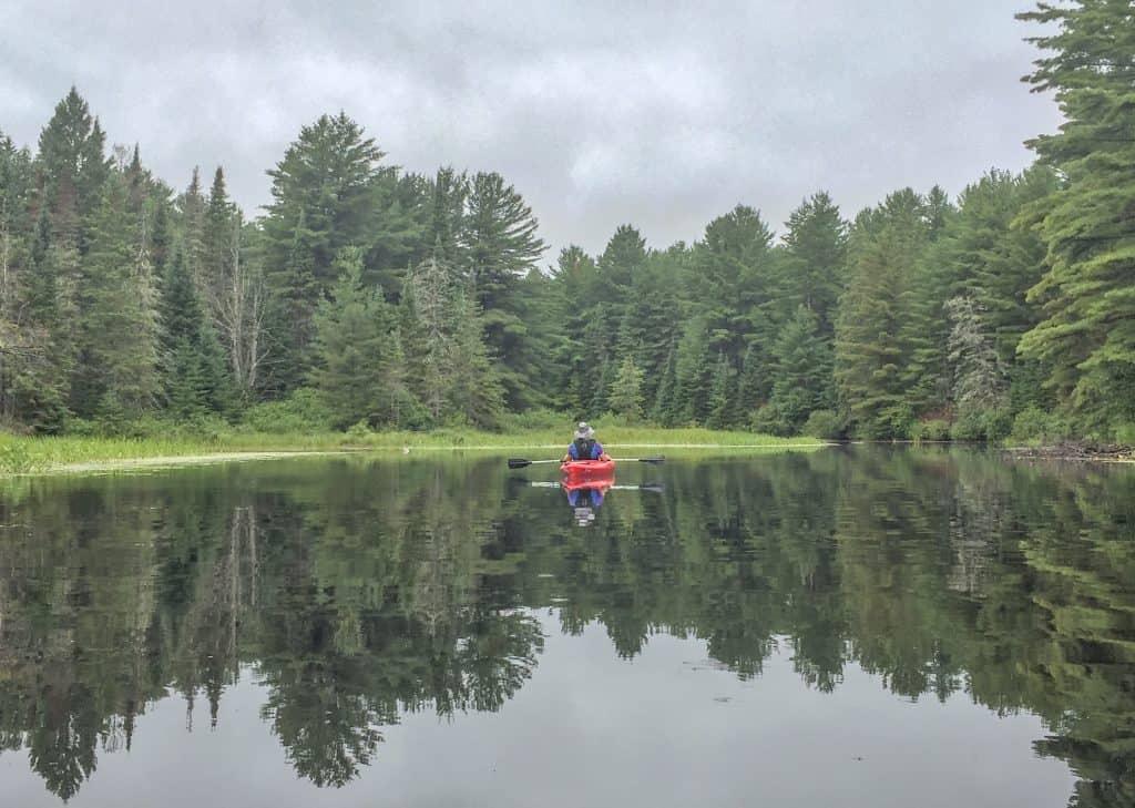 Kayaking at Algonquin Park