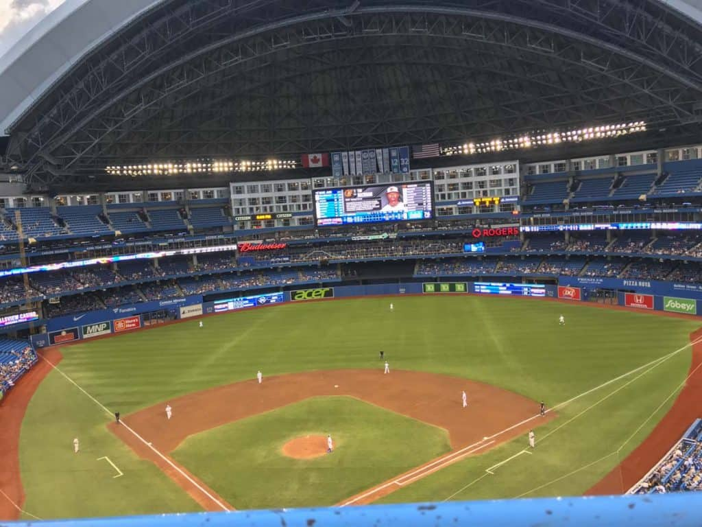 see the jays as a thing to do in toronto