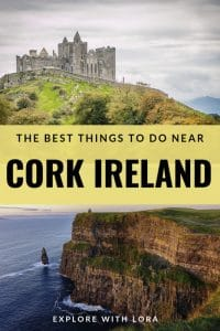 Looking for things to do in Cork City, Ireland? This post lists the best things to do in and around Cork City, including road trips suggestions to other attractions in Ireland! #Cork #Ireland #Europe #ThingsToDoIn #WhatToDoIn #BeautifulPlaces #IrelandTravel #Castles #BlarneyStone