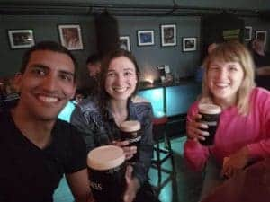 Making friends is easy as a solo traveler in Ireland