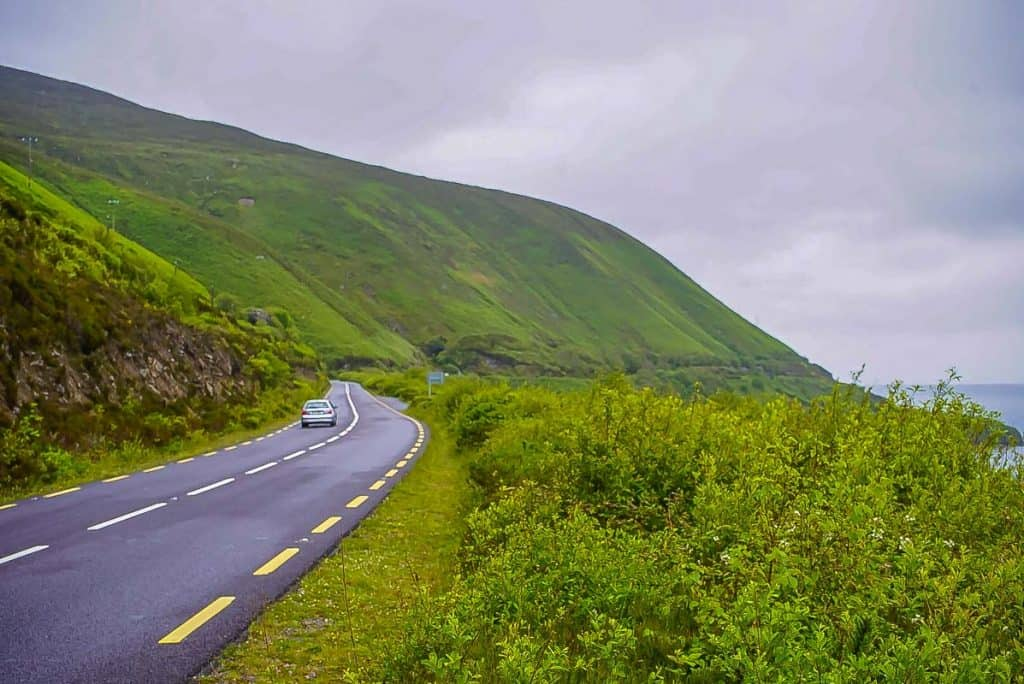 Scenery on the bus through Ireland