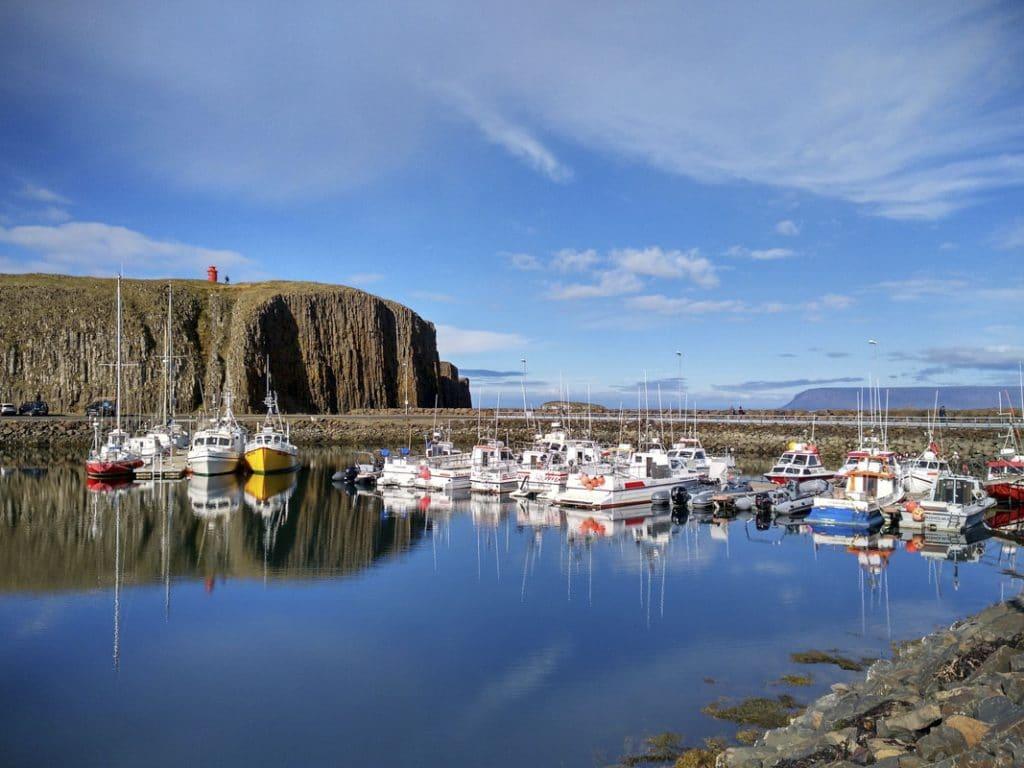 seaside town in Iceland