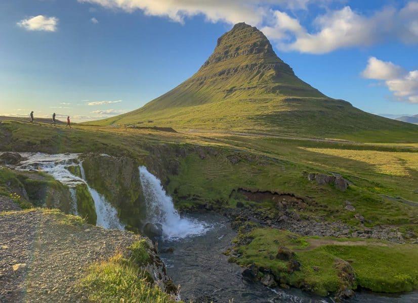 Kirkjufell Waterfall in Iceland