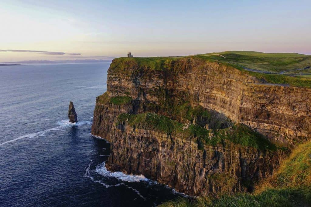 Cliffs of Moher in Ireland is one of the most popular day trips solo travellers take in ireland