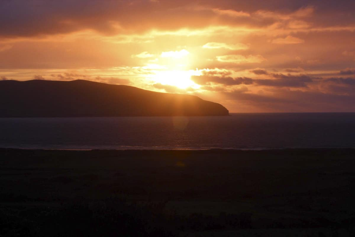 Sunset on the Dingle Peninsula