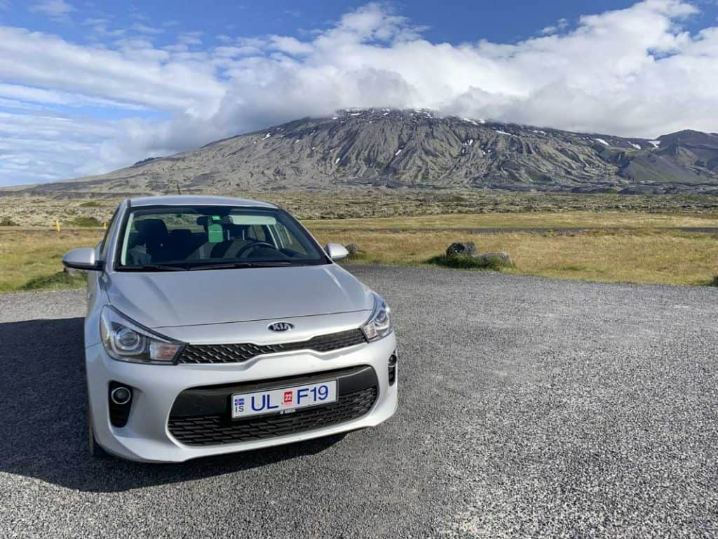 A regular 2x2 is fine for driving Iceland's main roads!