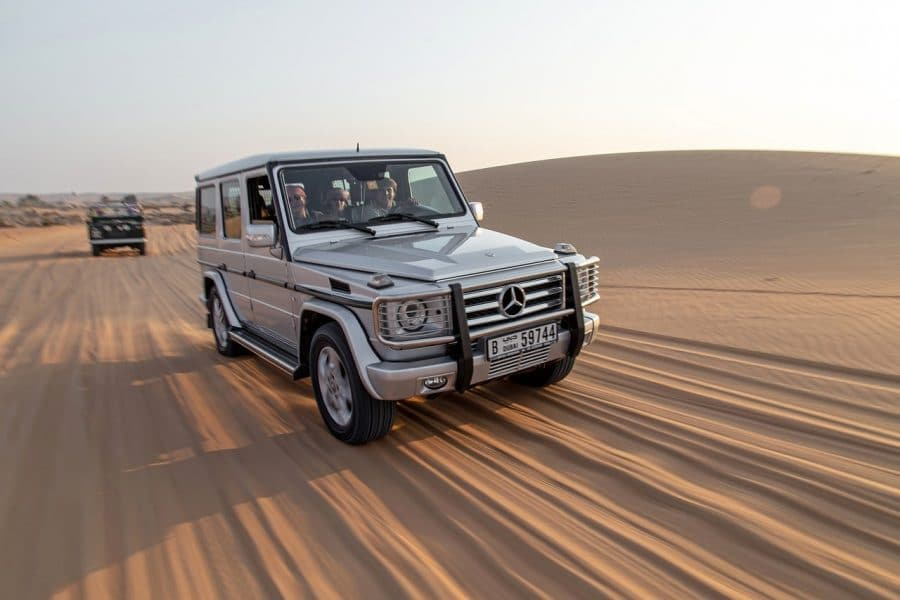 Visiting the Sand Dunes is one of the best Dubai Adventure Activities
