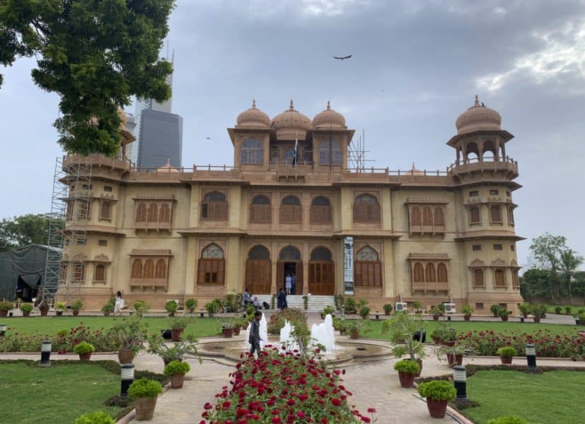 Mohatta palace is one of Karachi's beautiful places