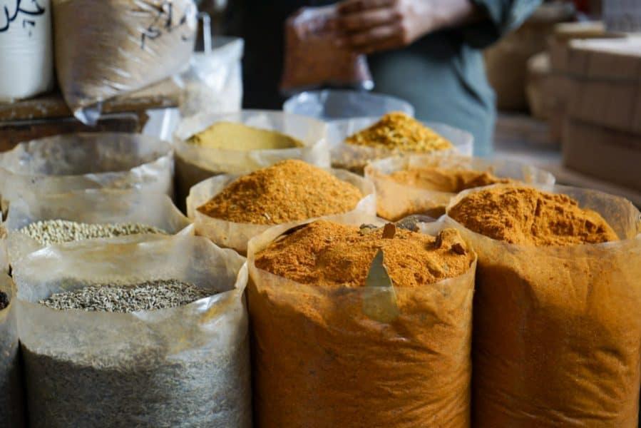 Spices at the Bazaar in Karachi