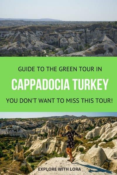 cappadocia green tour pin