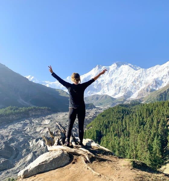 hiking nanga parbat mountain pakistan