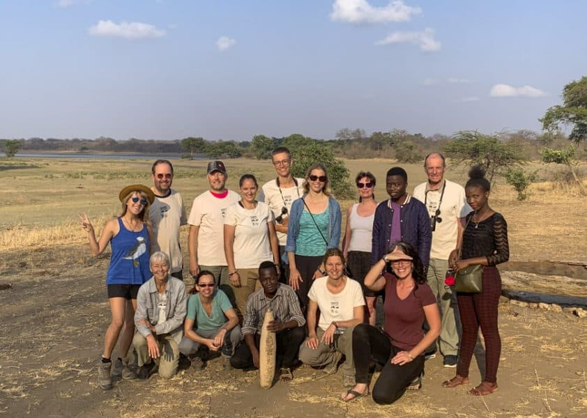our biosphere expeditions malawi team
