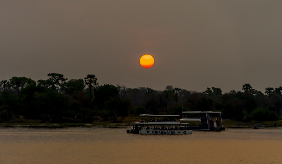 sunset cruise is one of the best things to do in livingstone zambia