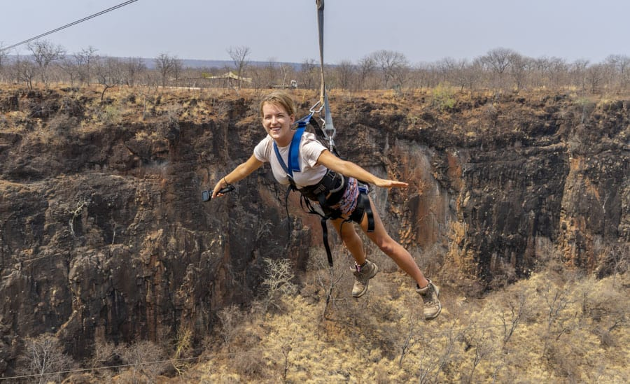 zip lining is one of the best things to . do in livingston