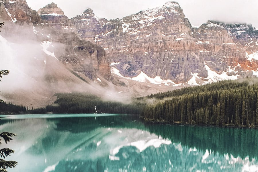 banff is one of the best destinations to travel in june 2020