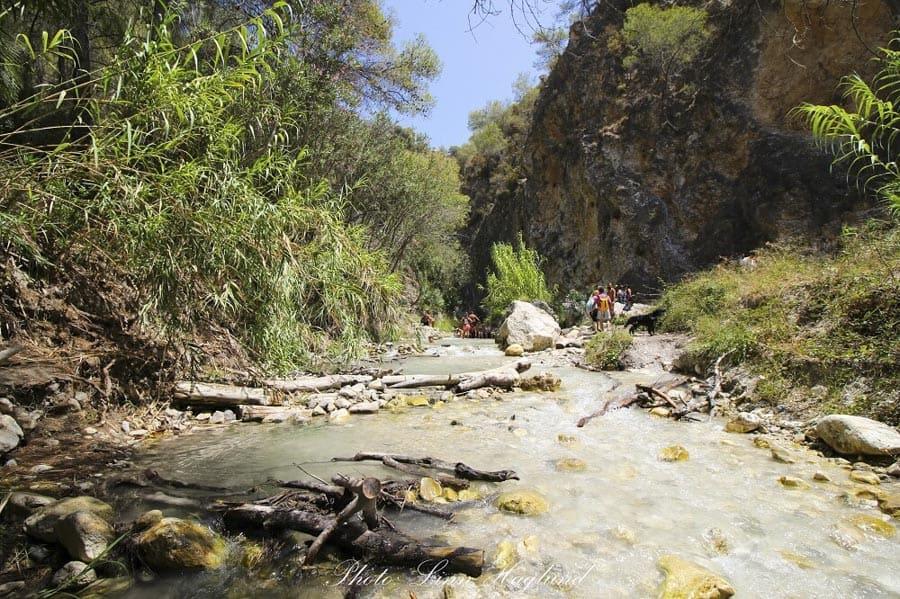 river in costa del sol spain