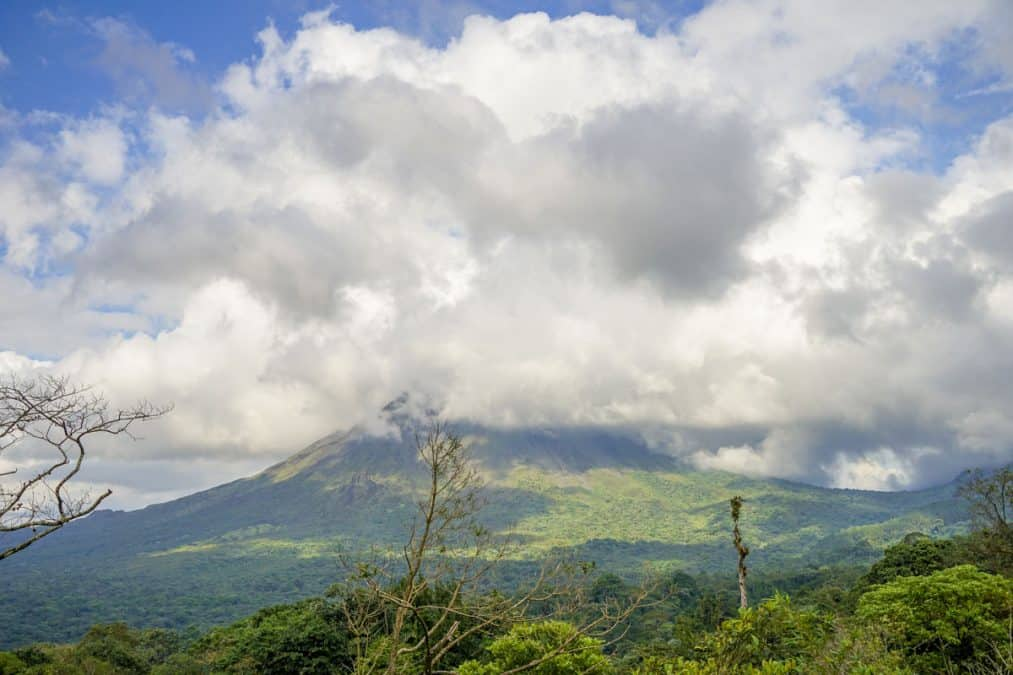arenal volcano is one of the best things to do in la fortuna costa rica