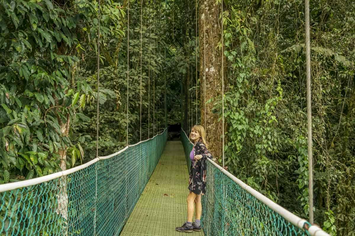 Hanging Bridges in La Fortuna