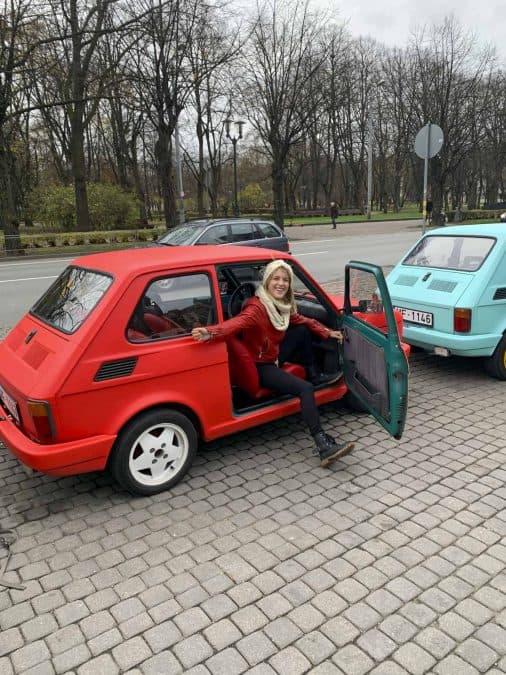 PanCar city tour in Riga