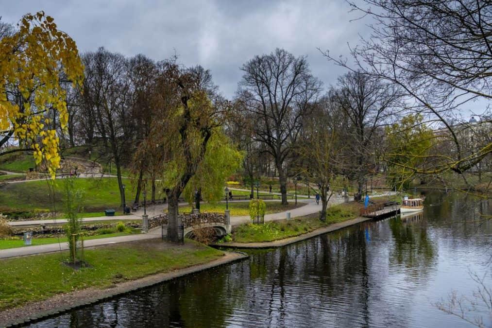 outdoor park in Riga