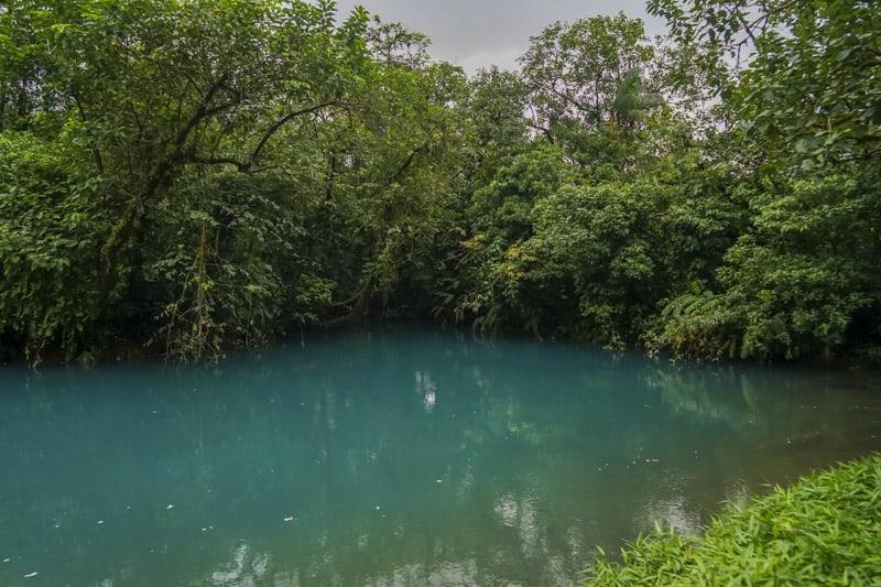 Blue lagoon rio celeste