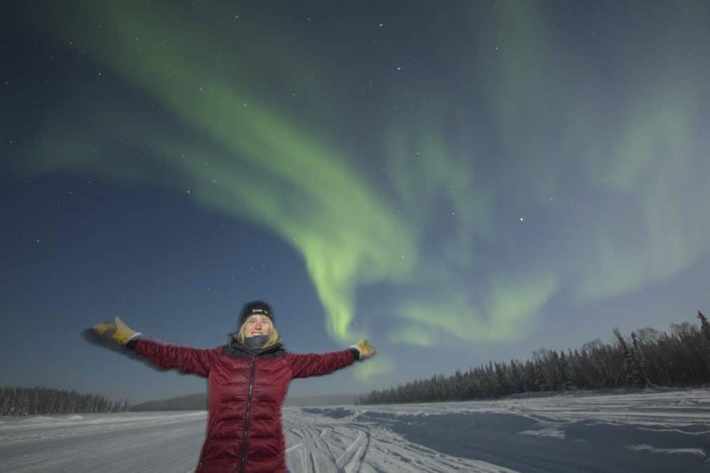 aurora borealis in yellowknife canada