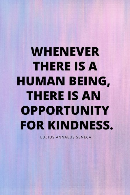 stories of kindness quote