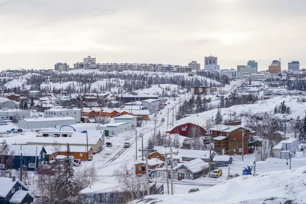 View of Yellowknife from Pilot's Monument