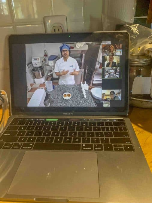travel virtually with online baking classes
