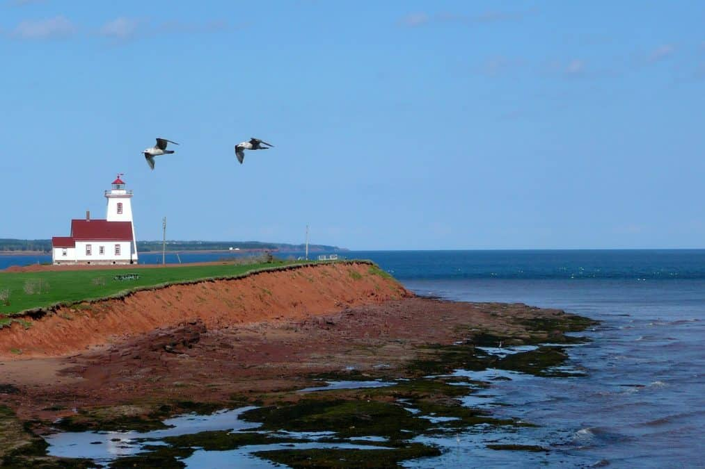 pei lighthouses on an eastern canada road trip