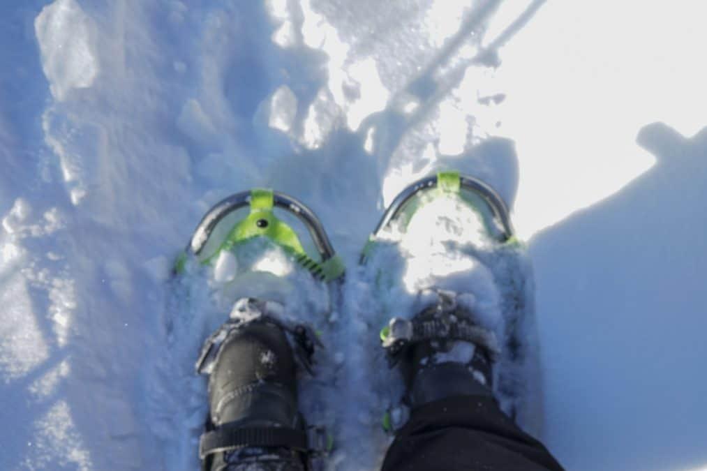 Snowshoeing in Yellowknife