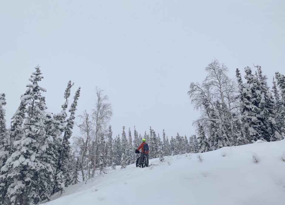 Winter Biking in Yellowknife