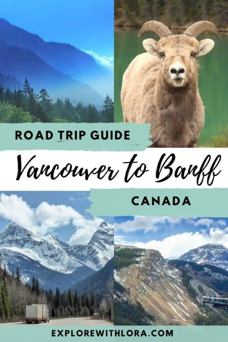 pinterest pin vancouver to banff