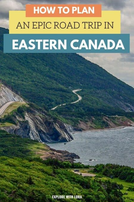 pinterst pin eastern canada road trip