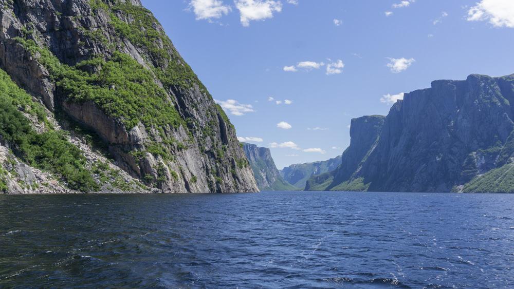 fjords in gros morne newfoundland