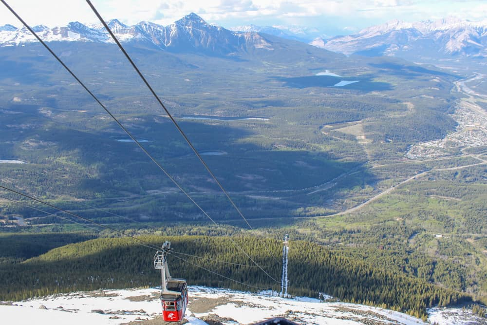 jasper national park skytram
