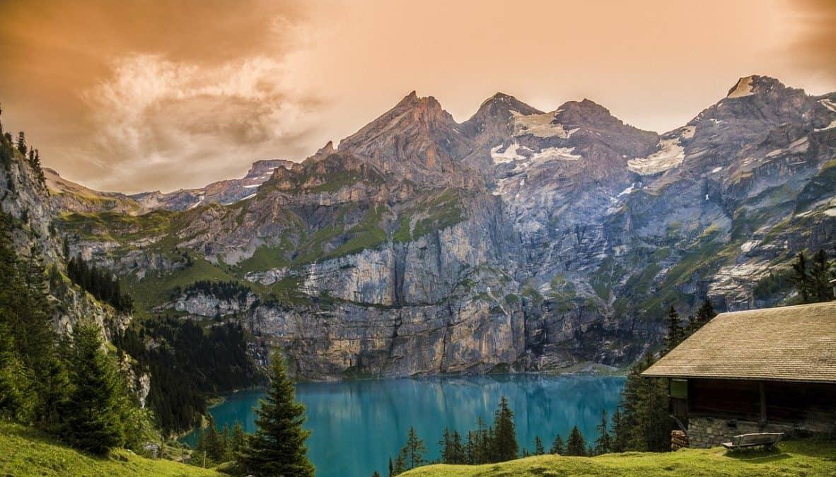 weekend in Oeschinen Lake, Switzerland