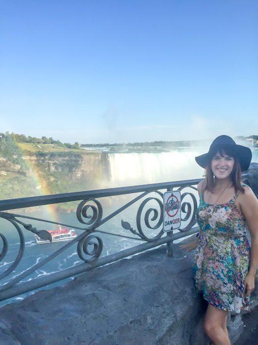 Lora in Niagara Falls