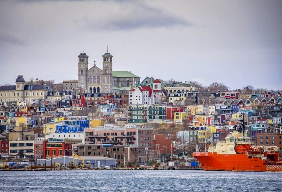 visiting st johns on an east coast canada road trip