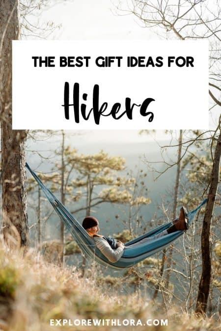 hiking gift guide pin