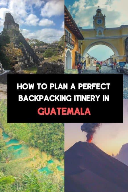 backpacking guatemala pin