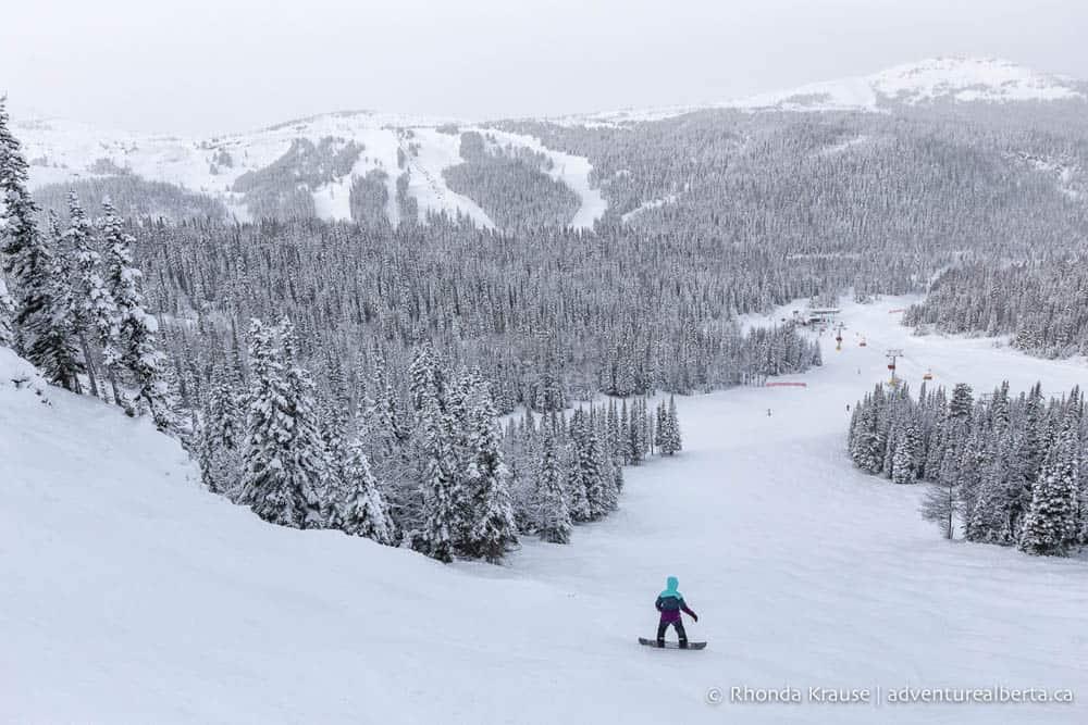 skiiing in alberta canada bucket list