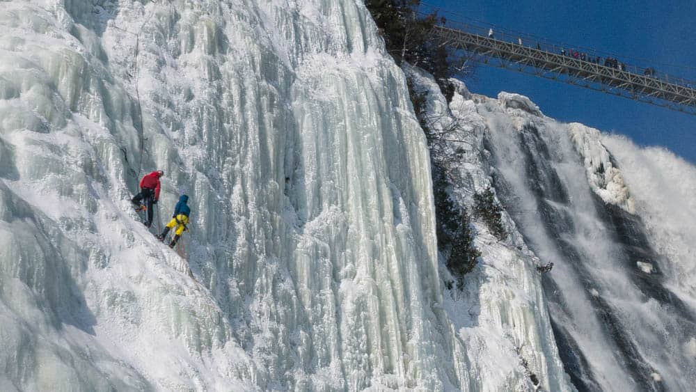 montmorency waterfall quebec