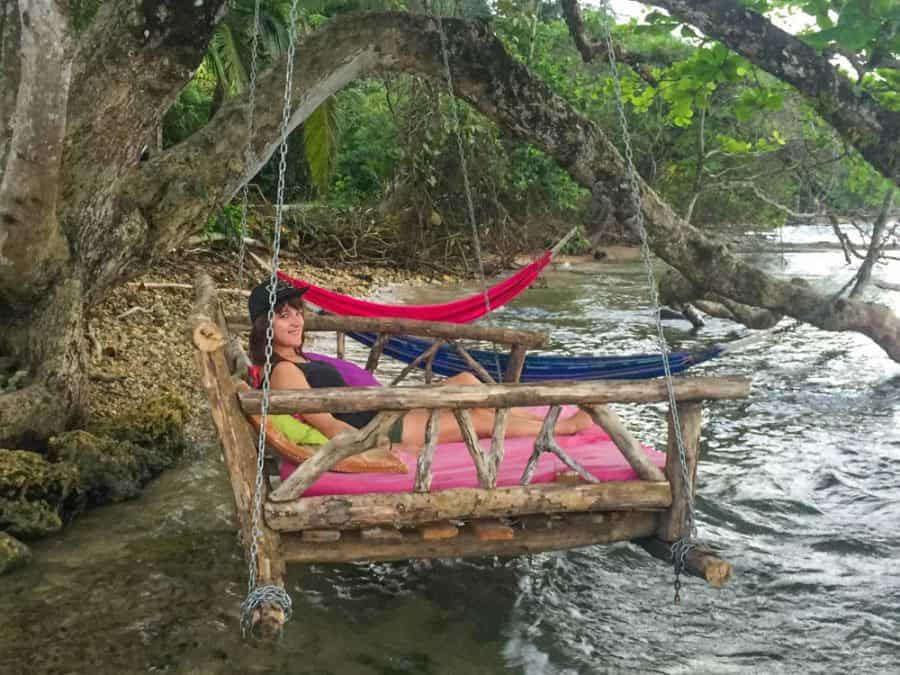overwater beds in bocas del toro panama