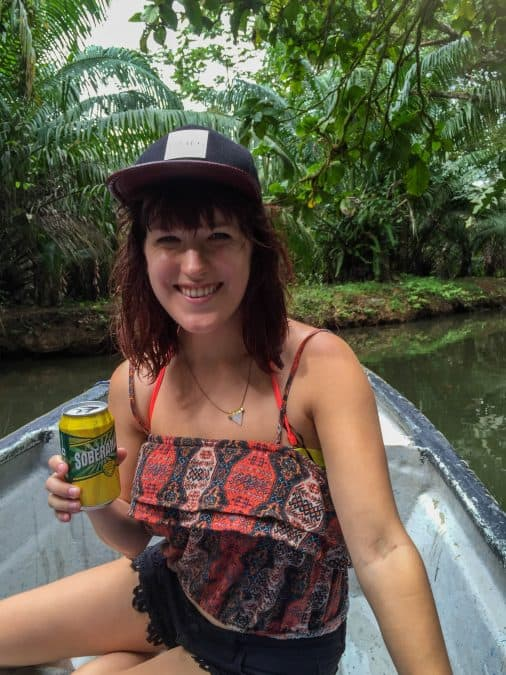 lora on mangrove boar tour