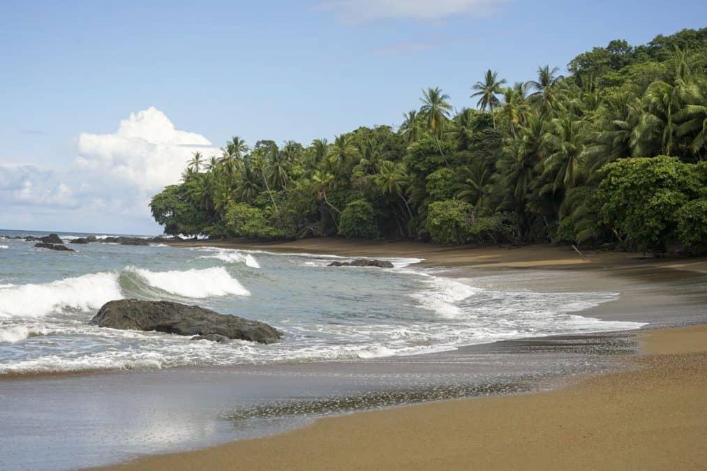 corcovado national park costa rica beach