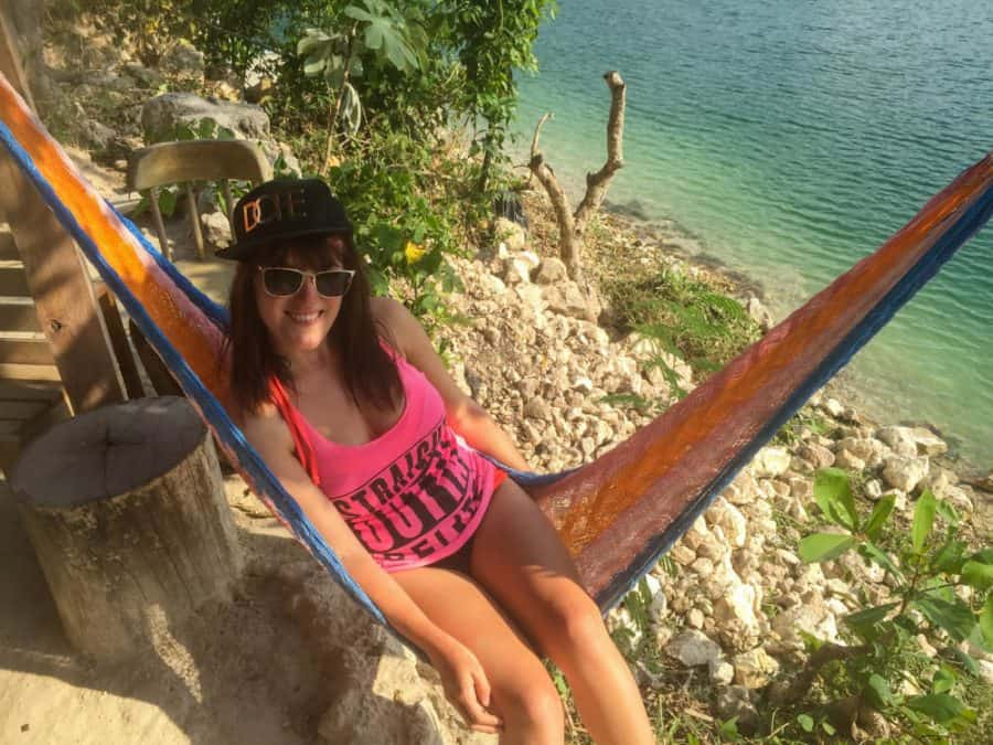 jorges rope swing flores guatemala