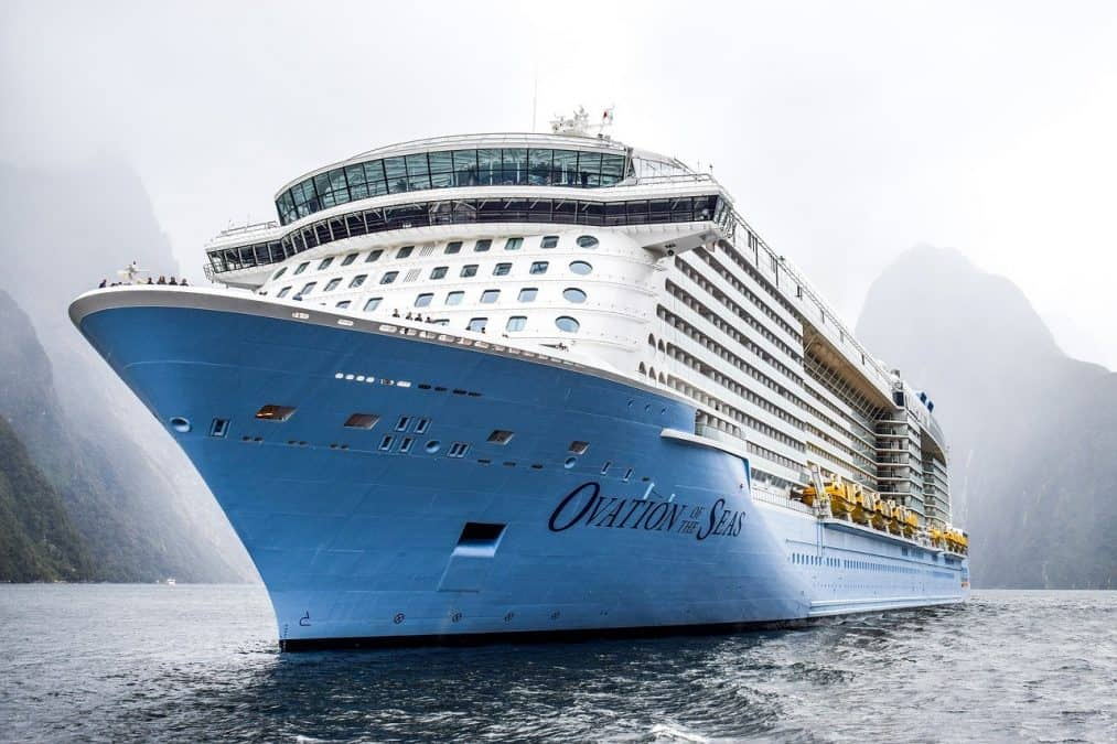 work on a cruise ship to travel on a budget
