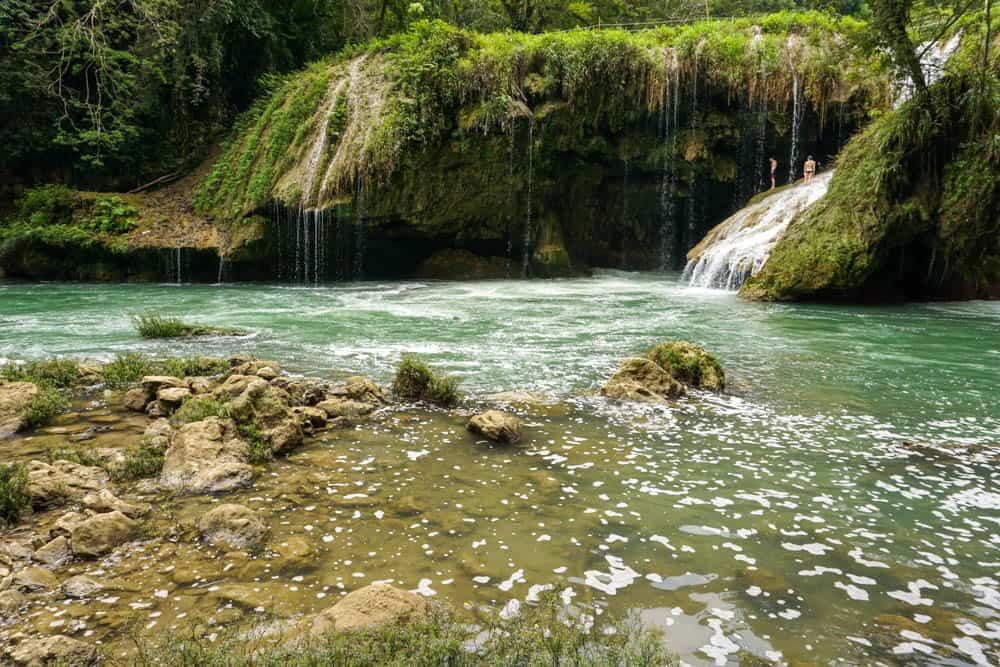 waterfall semuc champey