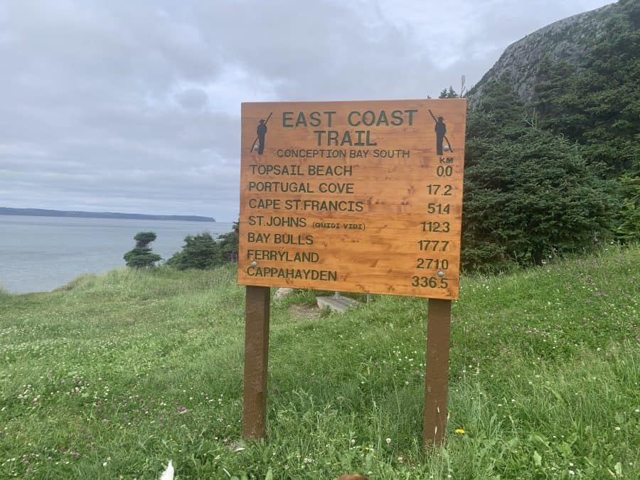 long shore path east coast trail
